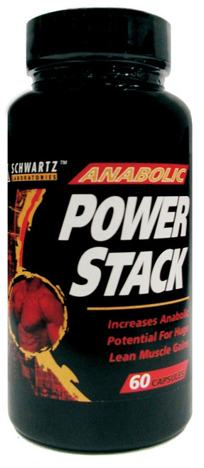 Anabolic Power Stack 60ct Schwartz Labs