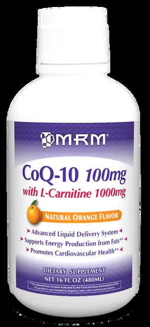 CoQ10 with L-Carnitine 16oz MRM