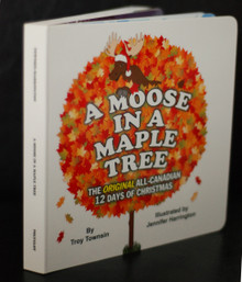 A Moose in a Maple Tree Board Book