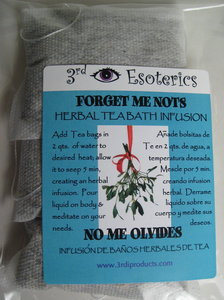 Forget Me Nots Herbal Tea Bath
