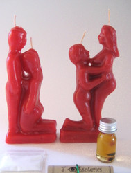 On Your Knee Couple Candle Kit