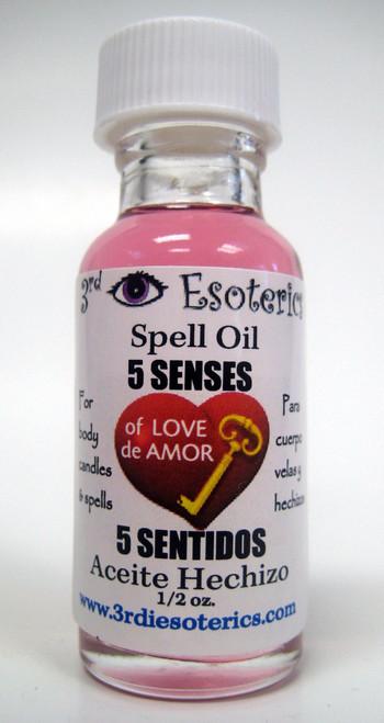 5 Senses Spell Oil