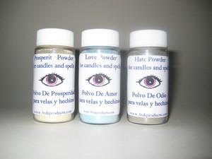 7 African Powers Magickal Powders