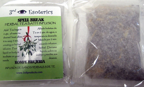 Spell Breaker Herbal Tea Bath