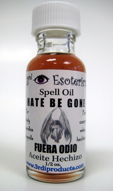 Hate Be Gone Spell Oil