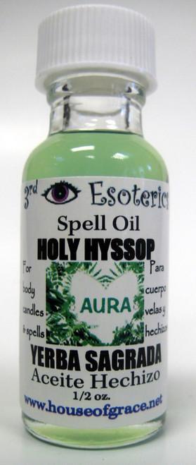 Holy Hyssop Spell Oil