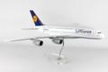 SKR8508 Lufthansa 380 1:100 W:Stand & Gear Model Airplane