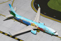 G2ASA399 Gemini 200 Alaska Airlines Spirit of Islands B737-800(W) Model Airplane