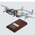 SEAF028W Executive Series Display Models United States Air Force (USA) P38M Night Lightning Model Airplane