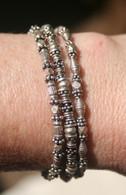 Triple silver bracelet I