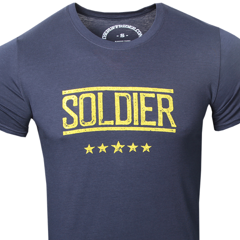 """RUFF RIDERS """"The SOLDIER"""" Tee"""