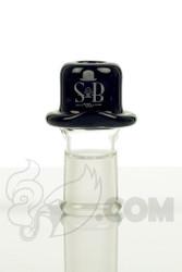 Sheldon Black - 14mm Black Derby Dome with SB Logo
