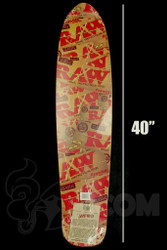 Raw - Longboard Deck - Back