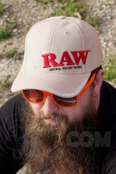 RAW - Tan Snap Back Hat