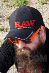 RAW - Black Snap Back Smakin' Hat