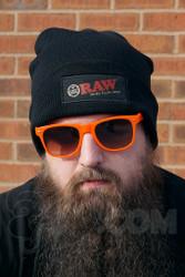 RAW - Black Beanie