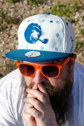Illadelph - Grassroots Space Monkey Fitted Hat