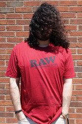 RAW - Red T-Shirt Front