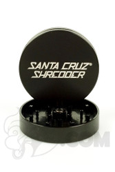 Santa Cruz Shredder - 2 Piece Large Black Grinder