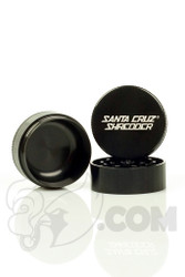 Santa Cruz Shredder - 3 Piece Medium Black Grinder