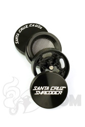 Santa Cruz Shredder - 4 Piece Small Black Grinder