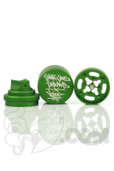 Santa Cruz Shredder - Vogue 3 Piece Green Spray Can Grinder