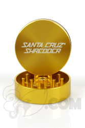 Santa Cruz Shredder - 2 Piece Medium Gold Grinder