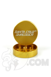 Santa Cruz Shredder - 2 Piece Small Gold Grinder