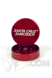 Santa Cruz Shredder - 2 Piece Small Red Grinder