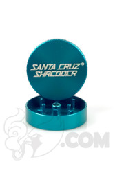 Santa Cruz Shredder - 2 Piece Small Teal Grinder