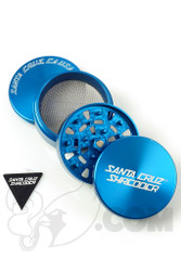 Santa Cruz Shredder - 4 Piece Large Blue Grinder