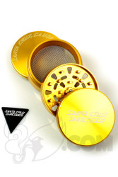 Santa Cruz Shredder - 4 Piece Large Gold Grinder