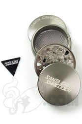 Santa Cruz Shredder - 4 Piece Large Grey Grinder