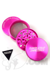 Santa Cruz Shredder - 4 Piece Large Pink Grinder