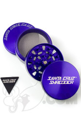 Santa Cruz Shredder - 4 Piece Large Purple Grinder