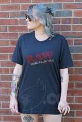 RAW - Black Unisex T-Shirt