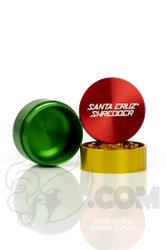 Santa Cruz Shredder - 3 Piece Medium Rasta Grinder