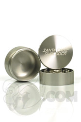Santa Cruz Shredder - 3 Piece Medium Silver Grinder