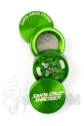 Santa Cruz Shredder - 4 Piece Small Green Grinder