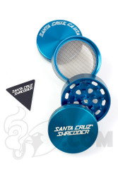 Santa Cruz Shredder - 4 Piece Medium Blue Grinder