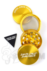 Santa Cruz Shredder - 4 Piece Medium Gold Grinder