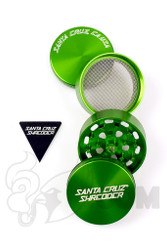 Santa Cruz Shredder - 4 Piece Medium Green Grinder