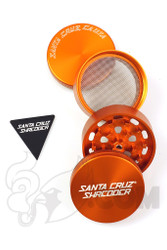 Santa Cruz Shredder - 4 Piece Medium Orange Grinder
