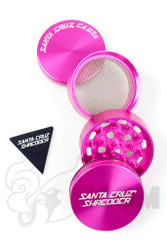 Santa Cruz Shredder - 4 Piece Medium Pink Grinder