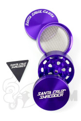 Santa Cruz Shredder - 4 Piece Medium Purple Grinder