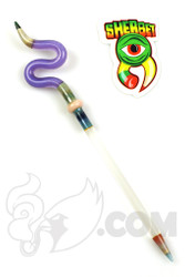 Sherbet Glass - Double Purple/Lucy Glass Pencil Dabber