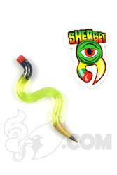 Sherbet Glass - Wavy Illuminati Glass Pencil Dabber