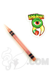 Sherbet Glass - CFL Pinkish Glass Crayon Dabber