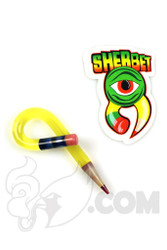 Sherbet Glass - Loop Illuminati Glass Pencil Dabber