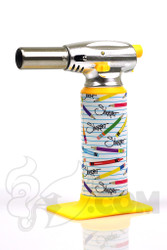 Sherbet x Errly Bird - Torch Art White Torch with Sherbet Pencil Label
